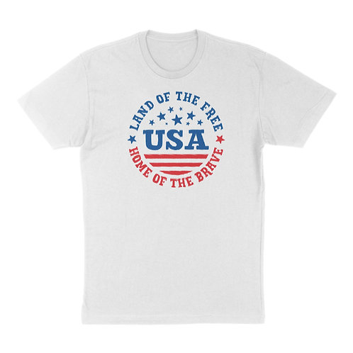 """Independence Day """"Land of The Free"""" T-Shirt"""