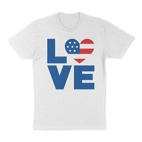 """Independence Day """"Love"""" T-Shirt"""