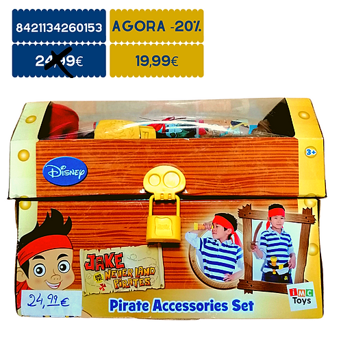 Conjunto de Pirata