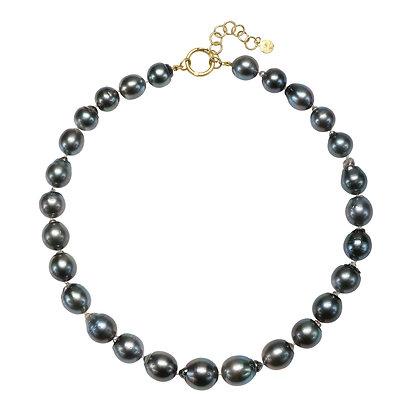 Black Tahitian Baroque Necklace
