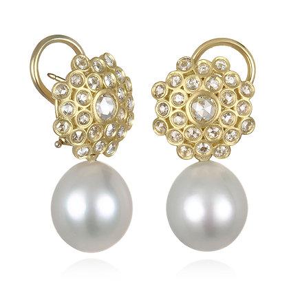 Zinnia Diamond Earrings