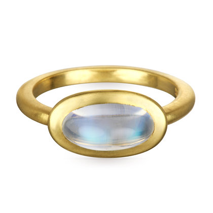 African Moonstone Ring