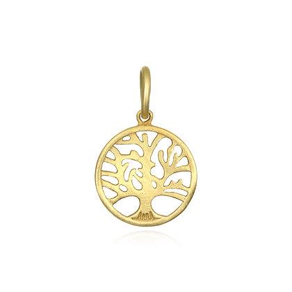 Tree of Life Disc Charm