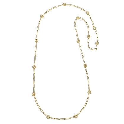 Diamond Pinwheel Chain