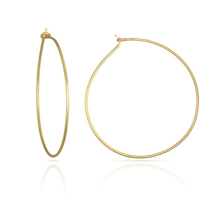 Signature Wire Hoops