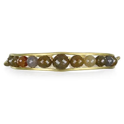 Raw Diamond Bead Bracelet
