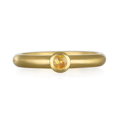 Yellow Sapphire Stack Ring