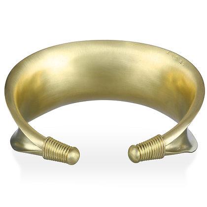 18K Gold Anticlastic Cuff
