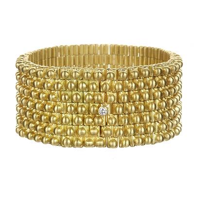 Flexible Gold Cuff