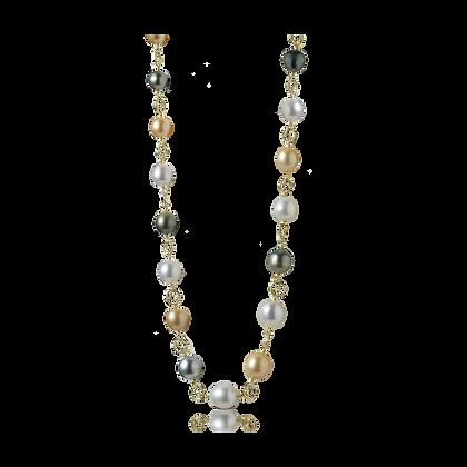 Multicolored South Sea Pearl Necklace