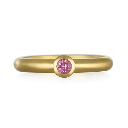 Pink Tourmaline Stack Ring