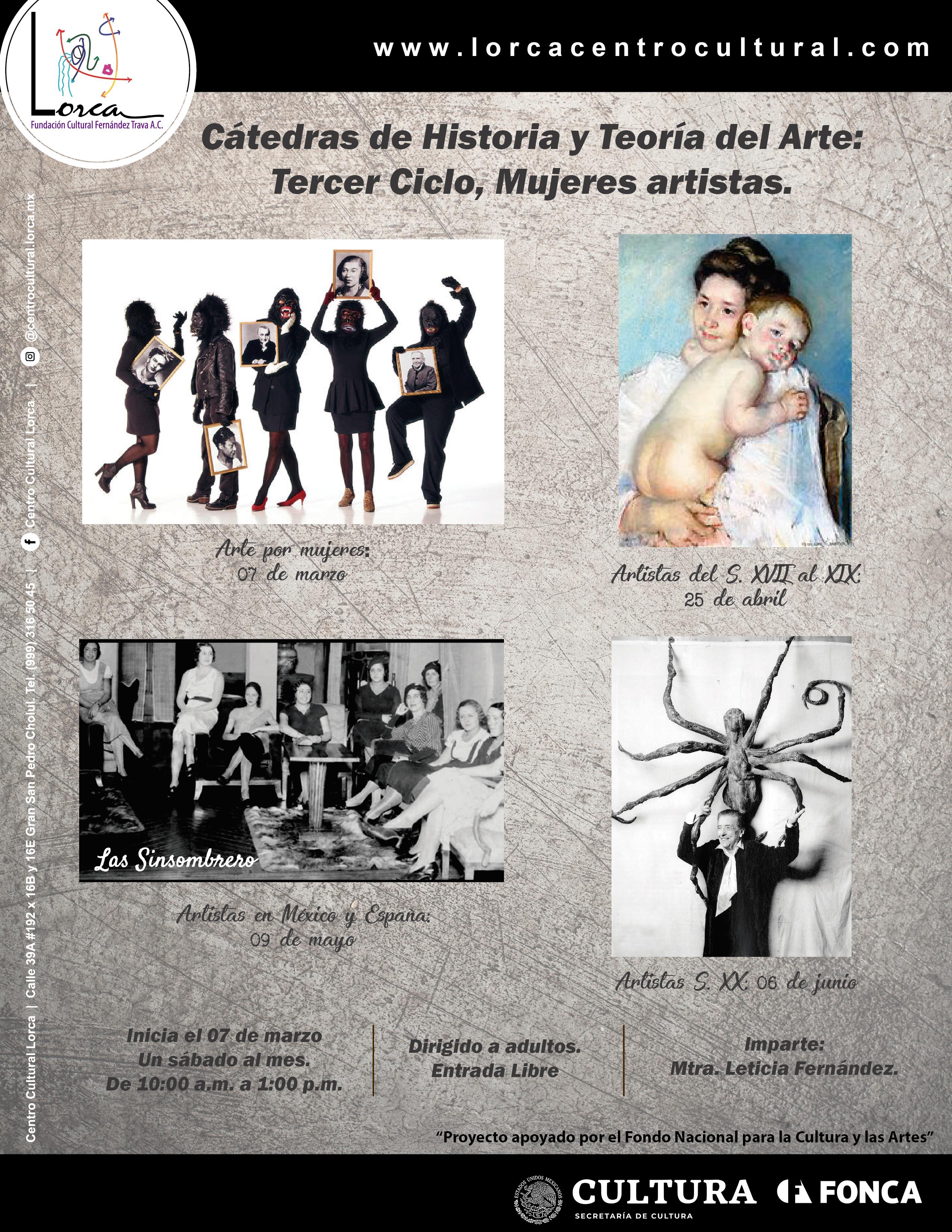 Cátedras_Arte_TercerCiclo_Lorca_Fonca