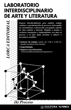 Cartel_Laboratorio_Lorca Editorial_Fonca