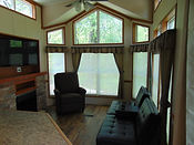 Maple Cabin Living Room