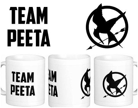 Caneca Jogos Vorazes - Team Peeta