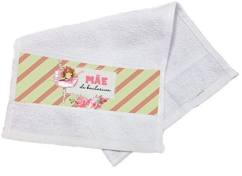 Toalha Lavabo Mãe de Bailarina Modelo 05