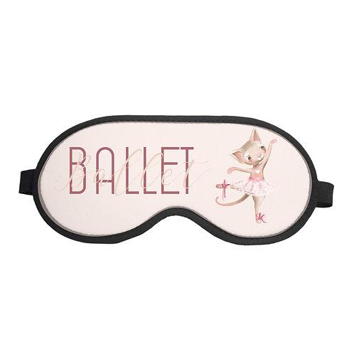 Máscara de Dormir Ballet Bichinhos