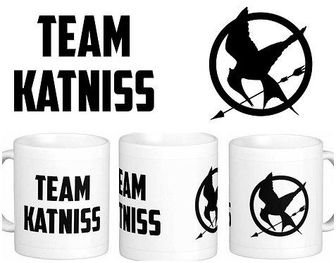 Caneca Jogos Vorazes - Team Katniss