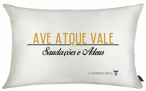 Almofadas Shadowhunters - Ave Atque Vale