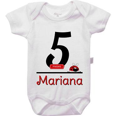 Mêsversário - Joaninha III - 5 meses