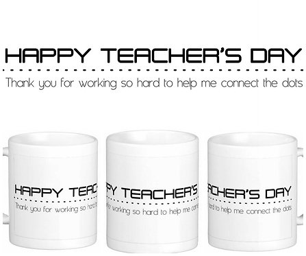 Caneca Dia dos Professores - Happy Teacher's Day