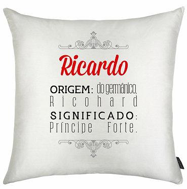 Almofada Significado Nome - Ricardo
