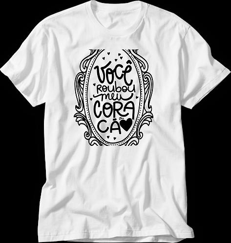 Camiseta Roubou Meu Coração