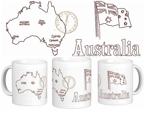 Canecas Pelo Mundo - Austrália