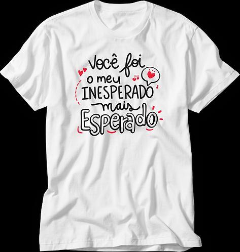 Camiseta Inesperado Esperado