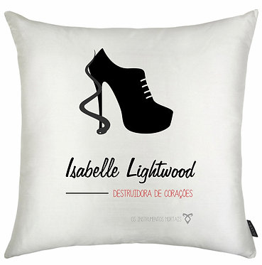 Almofadas Shadowhunters - Isabelle Lightwood