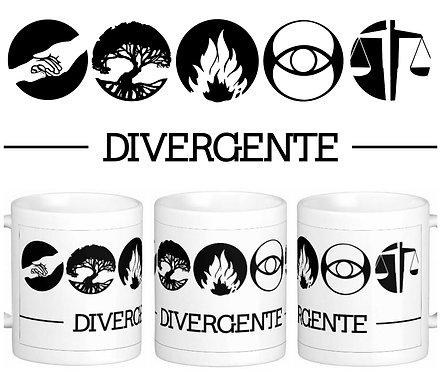 Caneca Divergente - Símbolos Facções