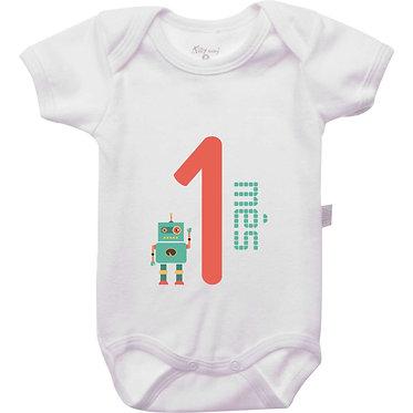 Mêsversário - Robôs - 1 mês