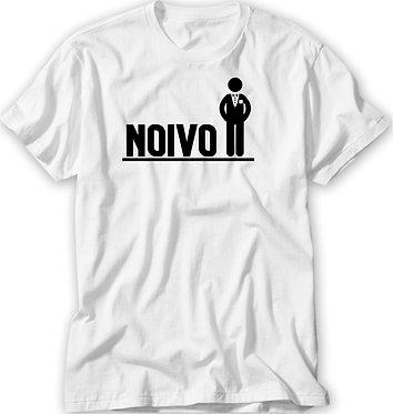Camiseta Casamento/ Chá Bar - Pictograma - Noivo