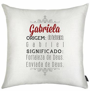 Almofada Significado Nome - Gabriela