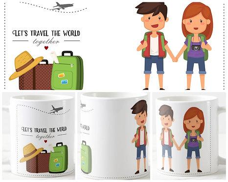 Canecas Dia dos Namorados - Let's Travel