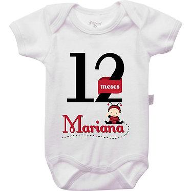 Mêsversário - Joaninha I - 12 meses