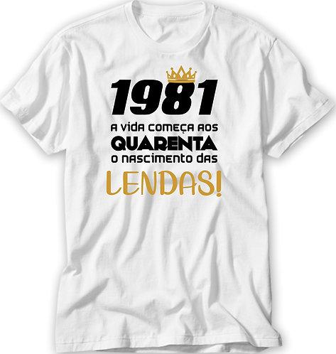 Camiseta Nascimento das Lendas