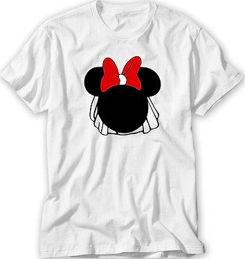 Camiseta Casamento/ Chá Bar - Minnie - Madrinhas