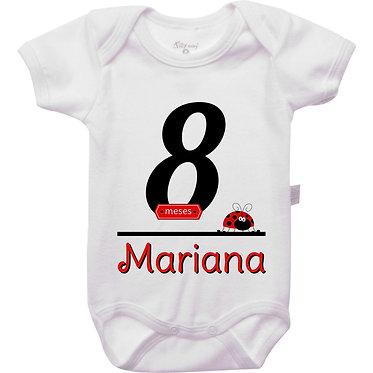 Mêsversário - Joaninha III - 8 meses