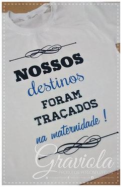 Camiseta Infantil - Nossos Destinos