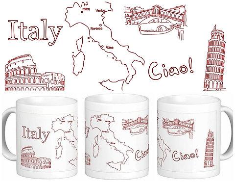 Canecas Pelo Mundo - Itália
