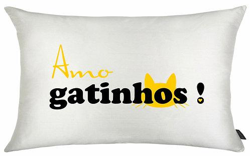 Almofada - Amo Gatinhos