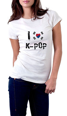 Camiseta - K-POP - Love K-POP
