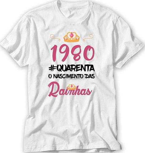 Camiseta Nascimento das Rainhas