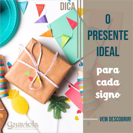 O presente ideal para cada signo