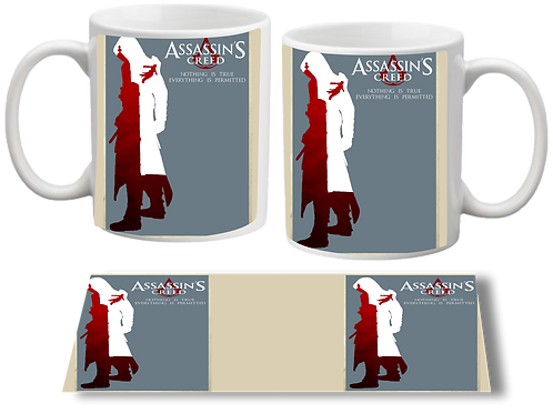 Caneca Assassin's Creed Poster