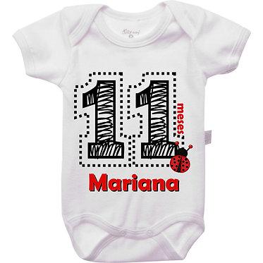 Mêsversário - Joaninha IV - 11 meses