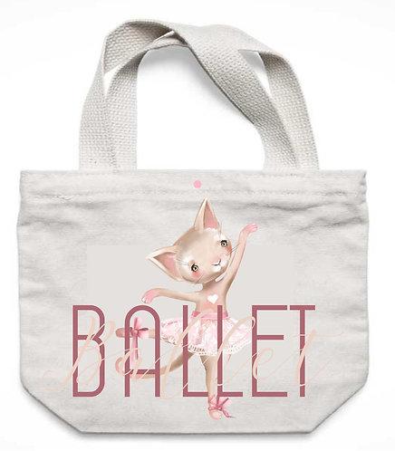 Ecobag Ballet Bichinhos
