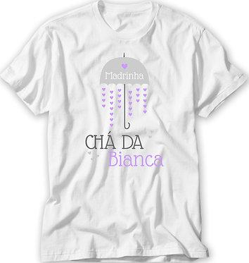Camiseta Chá de Bebê - Chuva de Amor