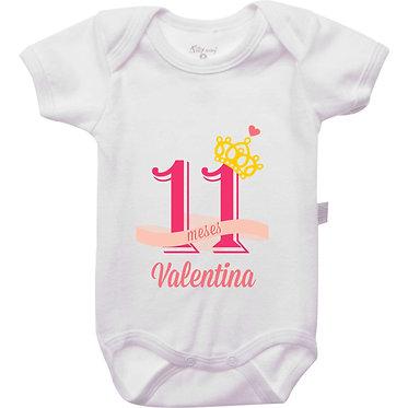 Mêsversário - Coroa Princesa - 11 meses